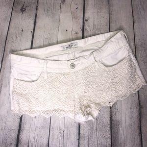 Hollister Boho Lace Shorts